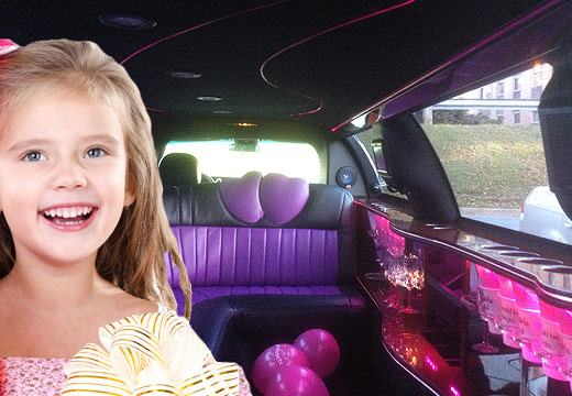 kids birthday party limo Halifax Nova Scotia